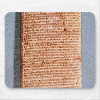 Tablet relating the ritual sacrifices mouse pad