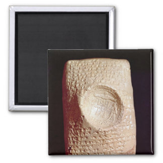 Tablet with cuneiform inscription magnet