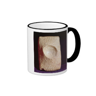Tablet with cuneiform inscription coffee mug