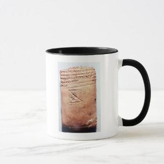 Tablet with cuneiform script, c.1830-1530 BC Mug