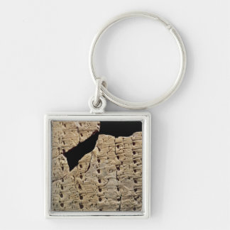 Tablet with cuneiform script, from Uruk Keychain