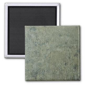 Tablet with cuneiform script magnet