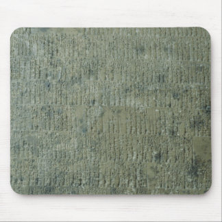 Tablet with cuneiform script mouse pad