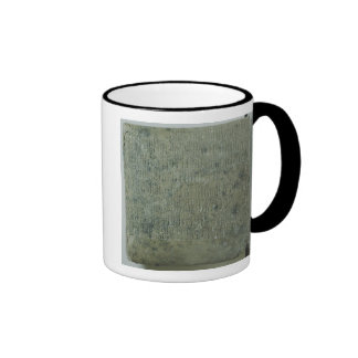 Tablet with cuneiform script coffee mug