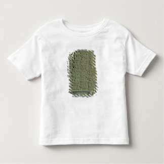 Tablet with cuneiform script toddler t-shirt