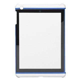 Tablet with empty screen case for the iPad mini