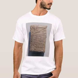 Tablet with fourteen lines of a mathematical text T-Shirt