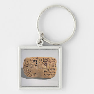 Tablet with pictographic inscription, Protoliterat Keychain