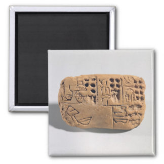 Tablet with pictographic inscription, Protoliterat Magnet