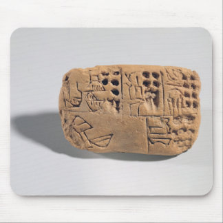 Tablet with pictographic inscription, Protoliterat Mouse Pad