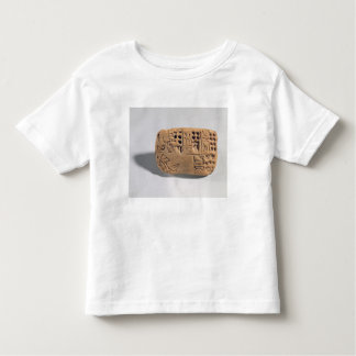 Tablet with pictographic inscription, Protoliterat Toddler T-shirt