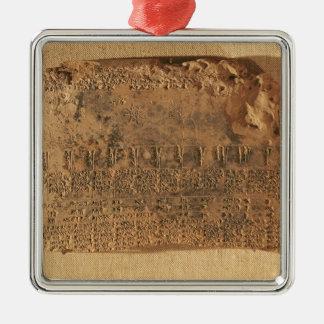 Tableta astrológica, de Uruk Ornamentos Para Reyes Magos