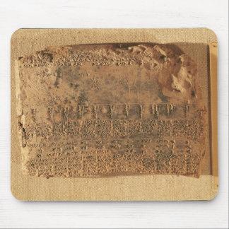 Tableta astrológica, de Uruk Mouse Pads