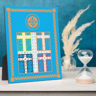 Tableta elemental del agua de Enochian Placas Con Fotos