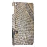 Tableta rota de piedra iPad mini cobertura
