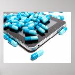 Tableta y píldoras impresiones