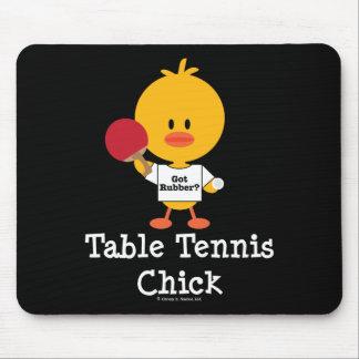 TableTennisChick Mouse Pad