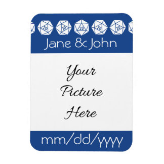 Tabletop Chic in Blue Save-the-Date Magnet