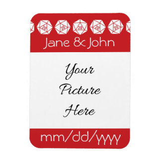 Tabletop Chic in Cherry Save-the-Date Magnet