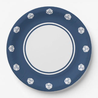 Tabletop Chic in Navy Paper Plate