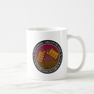 Tabletop drummer coffee mug