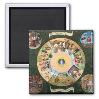 Tabletop of the Seven Deadly Sins Magnet