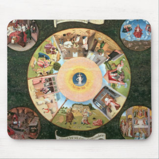 Tabletop of the Seven Deadly Sins Mousepads
