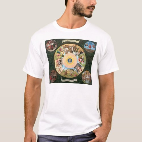 Tabletop of the Seven Deadly Sins T_Shirt