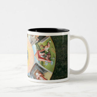 Tabletop of the Seven Deadly Sins Two-Tone Coffee Mug