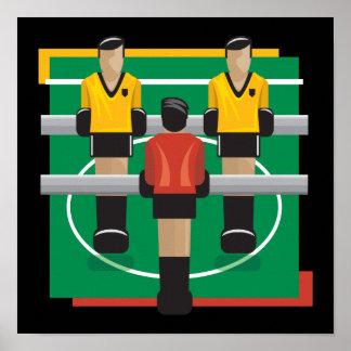Tabletop Soccer Poster