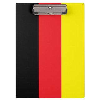 Tablilla con sujetapapeles Alemania estandarte