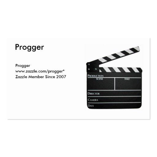 Tablilla, Progger, Progger, www.zazzle.com/pro.. Tarjetas De Visita