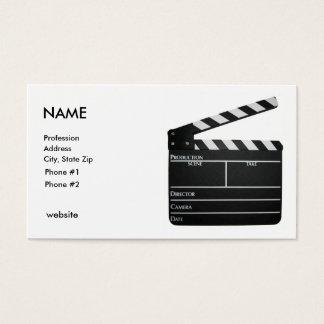 Tablilla, tarjeta de visita del CINEASTA