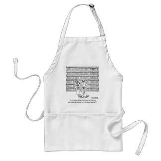 Tabloids Bound in Corinthian Leather Adult Apron