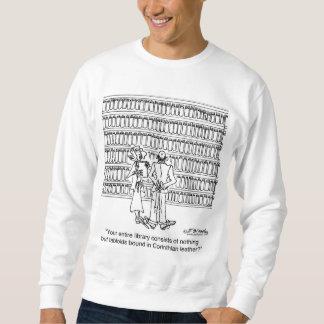 Tabloids Bound in Corinthian Leather Sweatshirt