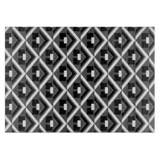 Tablón de filo Konstro Black & White Tablas Para Cortar