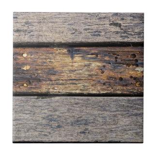 Tablones de madera azulejo cuadrado pequeño