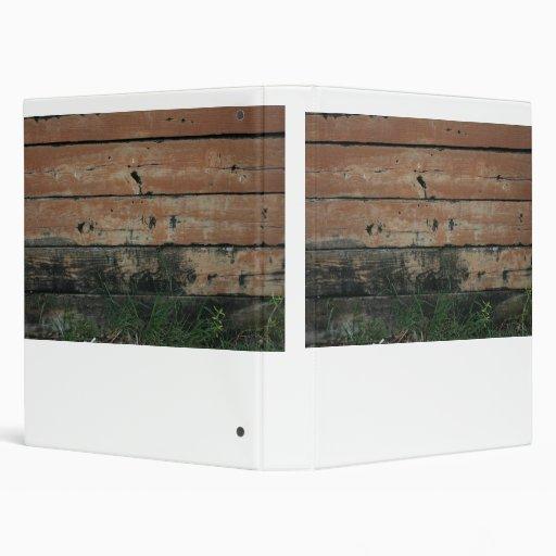 Tablones de madera con la fotografía creciente de