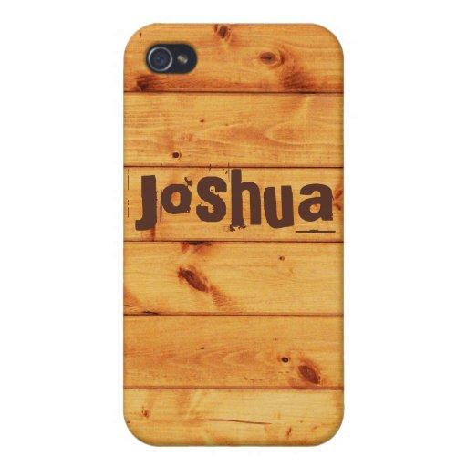 Tablones de madera conocidos de encargo iPhone 4 fundas
