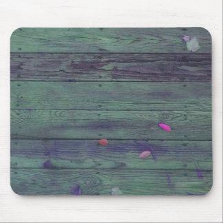 Tablones de madera reclamados tapete de raton