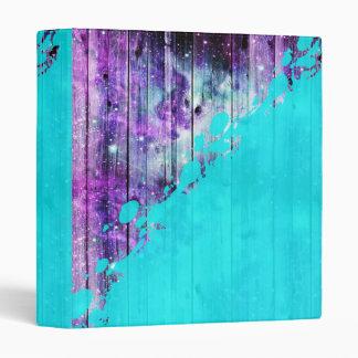 Tablones púrpuras, azules, y del trullo y salpicad