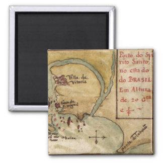 Taboas geraes of all the navigation (1630) magnet