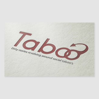 Taboo Logo Sticker
