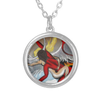 Taboo Rapture Silver Plated Necklace