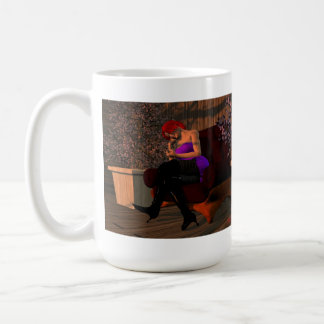 Taboo Vixens #4:  K'yehlar Rozhenko Classic White Coffee Mug