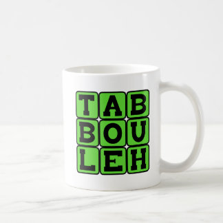 Taboulleh, Levantine Vegitarian Dish Coffee Mug