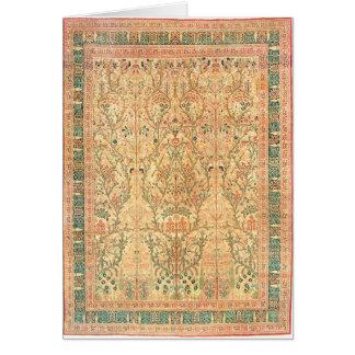 TABRIZ PERSIAN DESIGN GREETING CARD