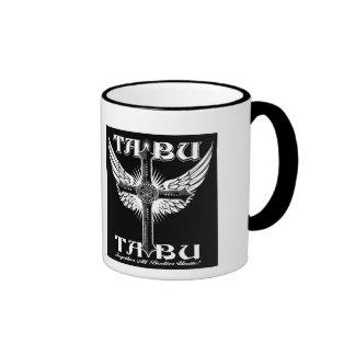 TABU coffee mug Cross