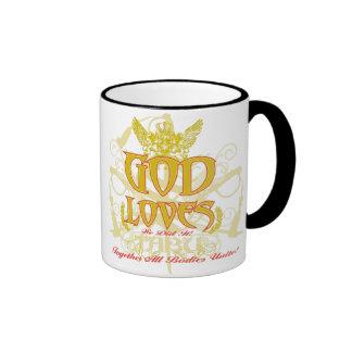 TABU coffee mug GOD Loves