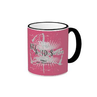 TABU HIV/Aids awareness coffee cup Ringer Coffee Mug